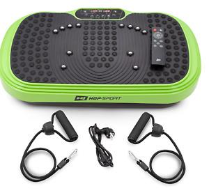 Vibration Platform HS 77 Green Massage Machine Fitness Exercise Gym New Model