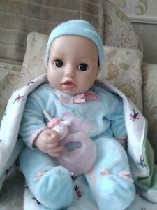 Baby annabell brother Alexander doll.