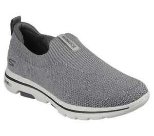 NEU SKECHERS Herren Sneakers Walkingschuhe Turnschuhe GO WALK 5 - TOWNWAY Grau
