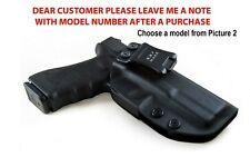 Gun Holster Glock 19 17 25 26 27 28 43 22 23 31 32 33 Inside Outside Carry Waist