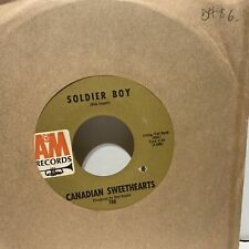 Canadian Sweethearts Soldier Boy- A&M 786 VG++ Rock 45