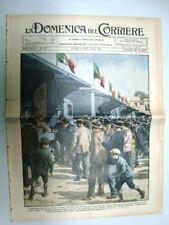 La Domenica del Corriere 23 Marzo 1930 Autotreno Grano Londra Eritrea