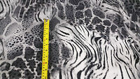 Quality Print Viscose Jersey Stretch Lycra Dress Fabric Cotton Material New