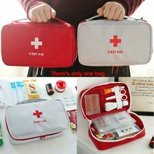 First Aid Kit Bag Emergency Medical Survival Treatment  Empty Box Pouch