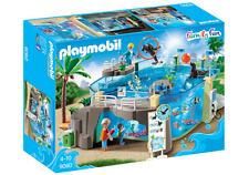 PLAYMOBIL Familia Divertido Acuario Marinera 9060 - Puede Relleno Agua