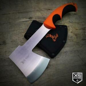 """10"""" TACTICAL Hunting Stainless Steel AXE Hatchet CAMPING Survival + SHEATH"""