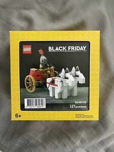 NEW SEALED LEGO 6346105 Black Friday Chariot Colosseum Promo FAST FREE SHIPPING