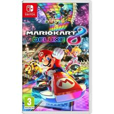 Mario Kart 8 Deluxe Nintendo Switch Game - Brand New!