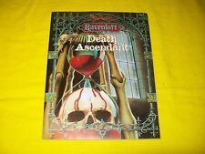 DEATH ASCENDANT RAVENLOFT DUNGEONS & DRAGONS AD&D TSR 9526 - 3 WITH MAP