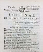 Journal Royaliste 1791 Dalon Limousin Marseille Desmoulins Caen Émigrés Jacobin