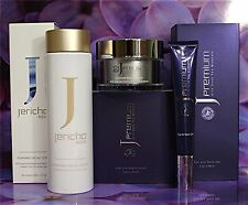 1 x JP NIGHT CREAM 1 x JP EYE & NECK GEL 1 x Jericho FOAMING FACIAL SCRUB 3 Set!