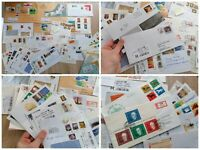 Sammlung 56 Einschreiben Briefe BRD interessante Euro Frankaturen