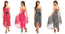 Damenkleider mit Bandeau aus Polyester in Größe 42