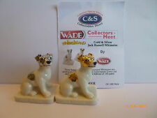 WADE WHIMSIE GOLD AND SILVER JACK RUSSELLS LE 100