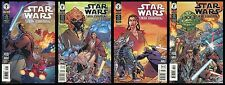 Star Wars Jedi Council Comic Set 1-2-3-4 Lot Darth Maul Sidious Yoda Mace Windu