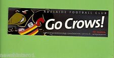 #D226.  ADELAIDE CROWS AFL STICKER - UNCOMPROMISING, INCLUSIVE, PROUD