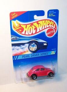 HOT WHEELS Mattel 1994 Pearl Driver Series #3 Of 4 Cars VW BUG Beetle - MOC