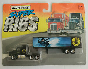 Matchbox Super Rigs Body Glove Ford Tactor Trailer Diecast HO Scale 1/87 New