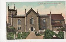St Marys Church Littlehampton Vintage Postcard 752a