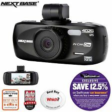 "NEXTBASE 402g Profesional Car Dash Dashboard cámara de video 2,7 "" 1080p HD DVR Cam"