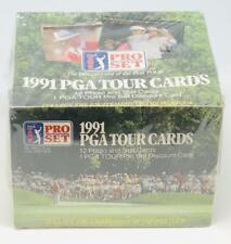 1991 Pro Set PGA Tour Cards Golf Box