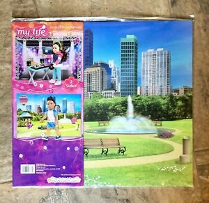 """NEW!! My Life As Reversible Background City & Dance Club for 18"""" 28838"""