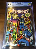 Avengers #92 (1971) - Captain Marvel!!! - CGC 9.6!!! - Last 15 Cent Issue!!!
