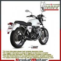 Mivv Exhaust Mufflers Ghibli Black Steel Moto_Guzzi V7 Classic Special 2010 10