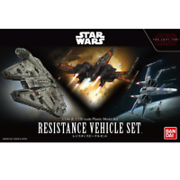 Bandai Star Wars RESISTANCE VEHICLE SET 1/144 & 1/350