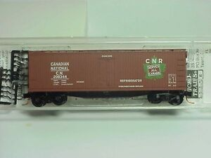 ~ MTL- 47200 ~ CANADIAN NATIONAL ~ 40' WOOD ICE REEFER ~