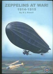 ZEPPELINS AT WAR 1914-1915  - WINDSOCK  DATAFILE  SPECIAL - new   sb  book