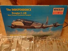 1999 MINICRAFT--DOUGLAS C118 THE INDEPENDENCE AIRPLANE--MODEL KIT (LOOK)