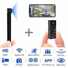 Mini Spy Camera 1080P WiFi Hidden Video Wireless Covert Security Day Night Wide
