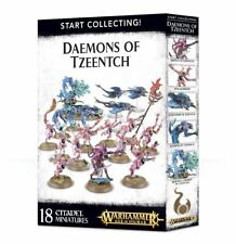 Start Collecting Daemons of Tzeentch Games Workshop Age of Sigmar Chaos Dämonen