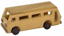 Wooden Bus Toy Handcrafted Gifts For Kids Room Decor