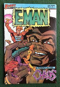 E-Man #13 First Comics Bronze Age Joe Staton Energy Man vf