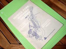 Musica para Guitarra del Peru 2 - Partitura Javier Echecopar - Manuelcha Prado