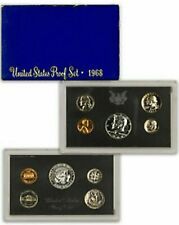 1968-S US Mint Proof Set (40% Silver Kennedy) w/ Original Box SHIPS FREE