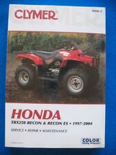 1997-2004 TRX250 Recon BRAND NEW Clymer Service Repair Manual Honda