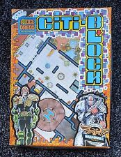 Games Workshop Judge Dredd 2000AD Warhammer 40K CITI BLOCK FLOOR PLANS EXPANSION