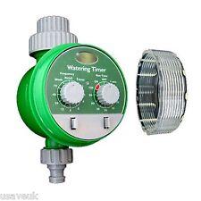 Temporizador de agua de jardín de riego electrónica ajusta Hozelock