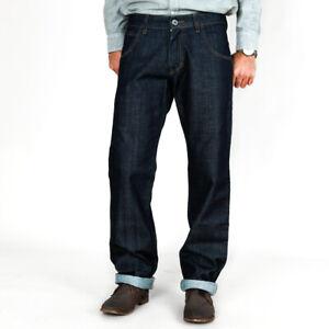 Bikkembergs Herren Designer Regular Fit Raw Jeans Hose Made in Italy | W29 L34