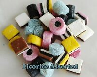 ASSORTED ENGLISH STYLE LICORICE BULK CANDY LICORICE 2 lb - 5 lb