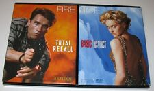 TOTAL RECALL BASIC INSTINCT DVD 2001 Promotional Kit