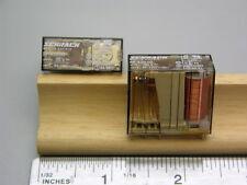 4 Schrack RP420110 DPDT 110V Relays