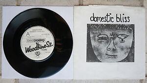 "Domestic Bliss – Child Battery  7"" Single  Rare  Woodbine St. Rec. WSR 004"