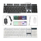 Computer Desktop Gaming Keyboard and Mouse Feel Led Light Backlit