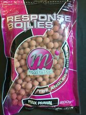 MAINLINE RESPONSE BOILIES 200g - PINK PRAWN - FOR CARP, BREAM ETC