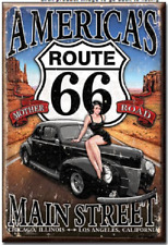 Refrigerator Magnet: RT66 America's Main St M1957 Mother Road
