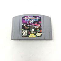 NFL Blitz Nintendo 64, 1997 N64 Football Authentic Tested Cartridge Game
